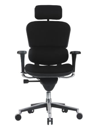 EUROTECH ERGOHUMAN FABRIC ERGONOMIC OFFICE CHAIR