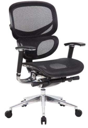 Boss Multi-Function Mesh Chair - B6888-BK