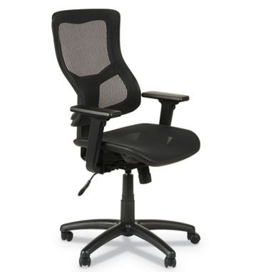 Alera Elusion II Series Suspension Mesh Mid-Back Synchro with Seat Slide Chair