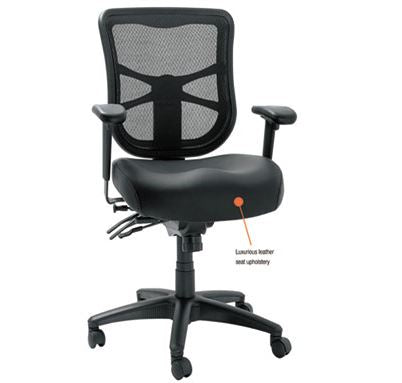 Alera Elusion Series Mesh Mid-Back Multifunction Chair-ALEEL4215