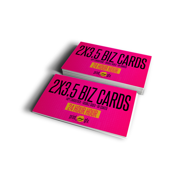 2x3.5 Business Card (24 Hour)