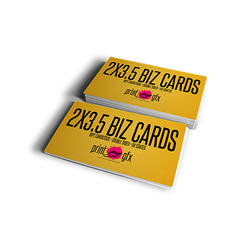 2x3.5 Business Cards (16pt)