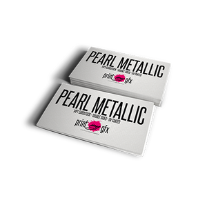 2x3.5 Business Cards (14pt METALLIC PEARLMYGFX)
