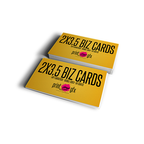 2x3.5 Business Cards (14pt)