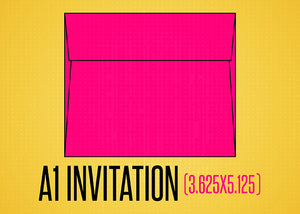 A-1 Invitation Envelopes (3.625x5.125)