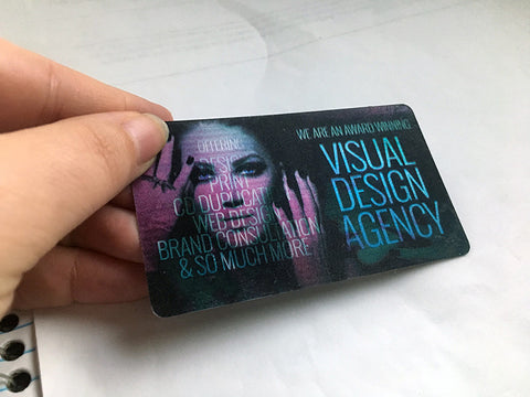 2x3.5 Business Cards (21pt HOLOGRAMMYGFX)