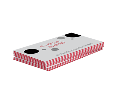 2x3.5 Business Cards (38pt Ultimate Triple Layer Red)