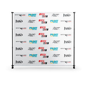 8x8 Banner with Stand