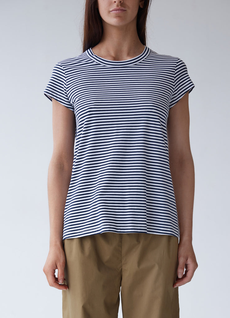 Oliver Crew Neck Sleep T - Stripe