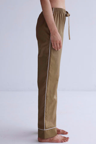 Kate Pyjama Pants - Khaki