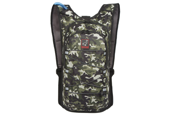 Goose Cycling Equipment Lightweight Backpack Hydration Compatible Bladder Bike Bicycle Camo Camouflage Green