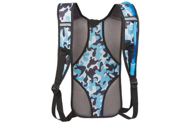 Goose - Lightweight Backpack - Hydration Compatible - Camouflage Blue - Free and fast UK delivery. - Goose Products