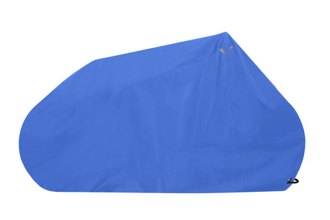 Goose - Premium Grade Lockable Bike Cover - Blue - Free and fast UK delivery - Bicycle Ebike E-bike Electric