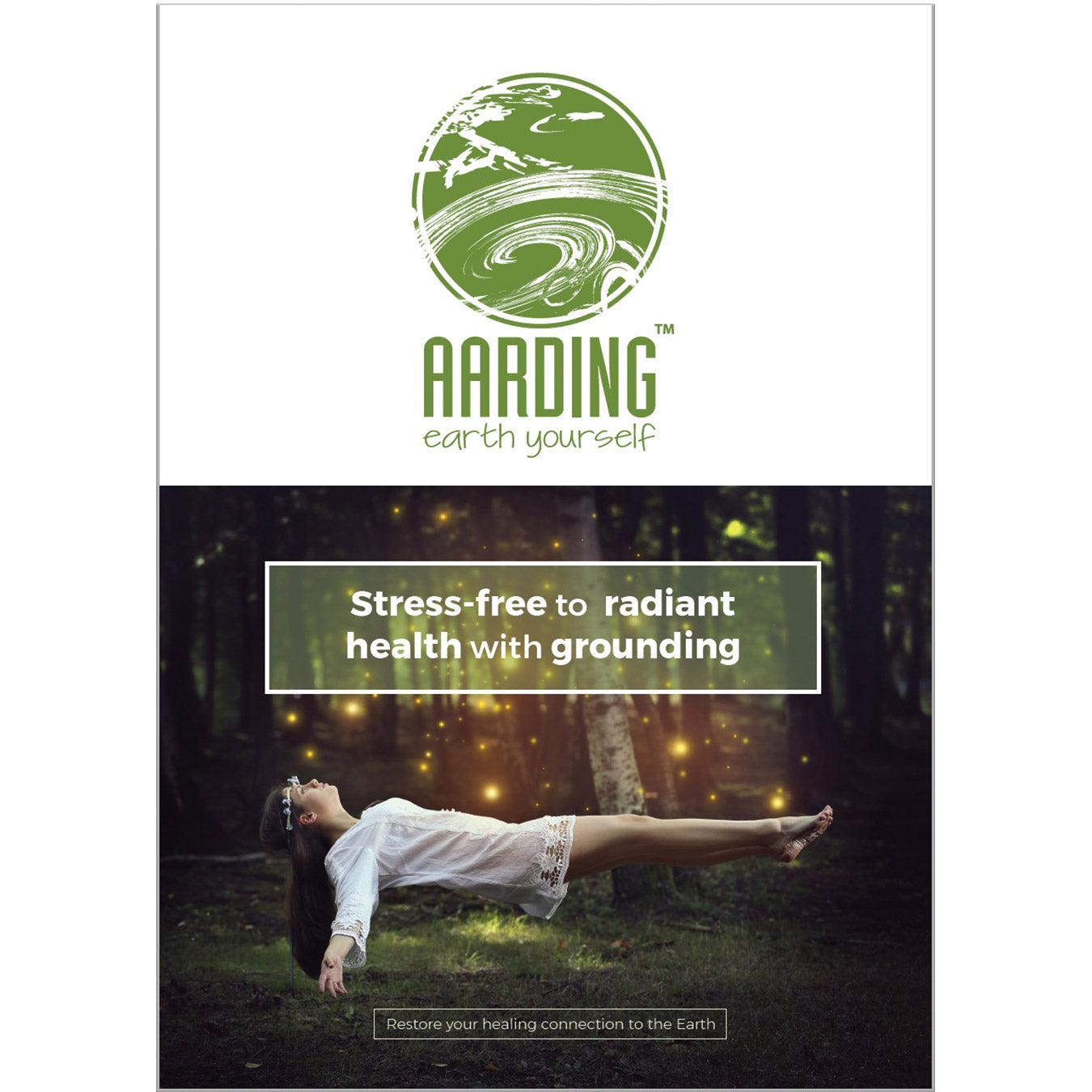 Booklet: 'Stress-free to radiant health with grounding ' (Ludo Verstraete, 20 pag.)'