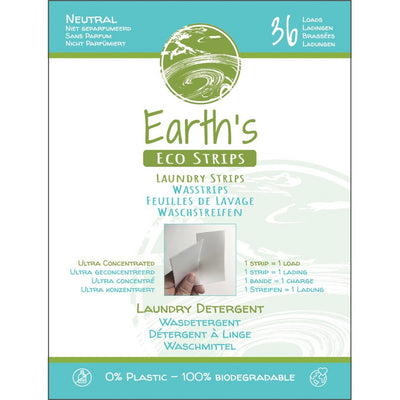 Earth's Eco Strips, Neutral, (36 loads) - Aarding