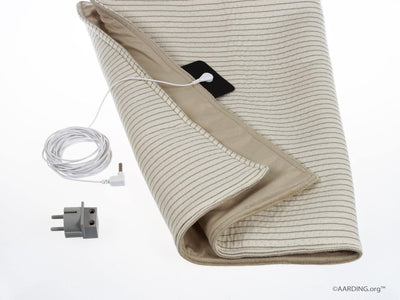 "Grounding Plush Pad 50 x 70cm (20"" x 28"") (incl. cable 5 m and adapter) - Aarding"