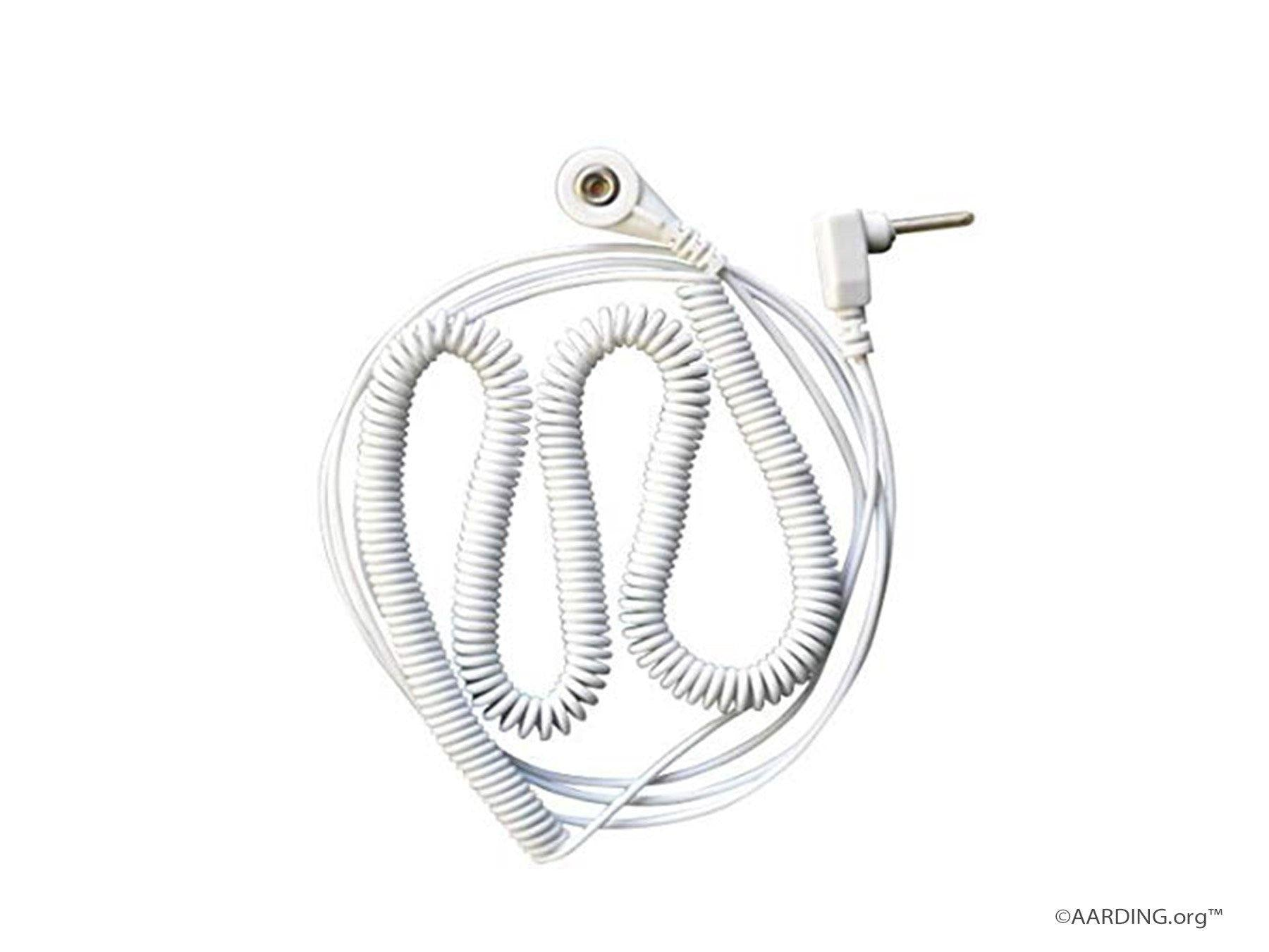 Standard Coiled Connection Cable 13ft (4m) - Aarding