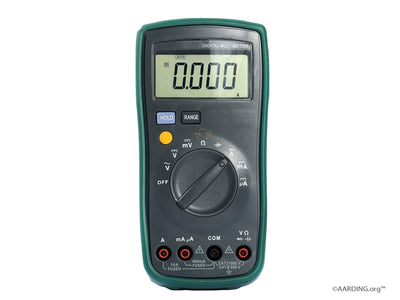 The Body Voltage Meter - Aarding