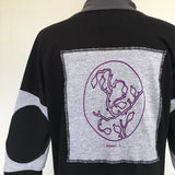 Seaweed (back patch) Cardigan