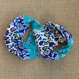 Floral/ Colorful Animal Print Infinity Scarf