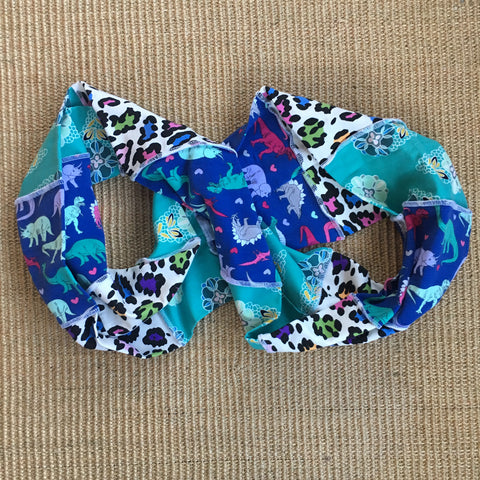 Dinosaurs/ Floral/ Animal Print Infinity Scarf