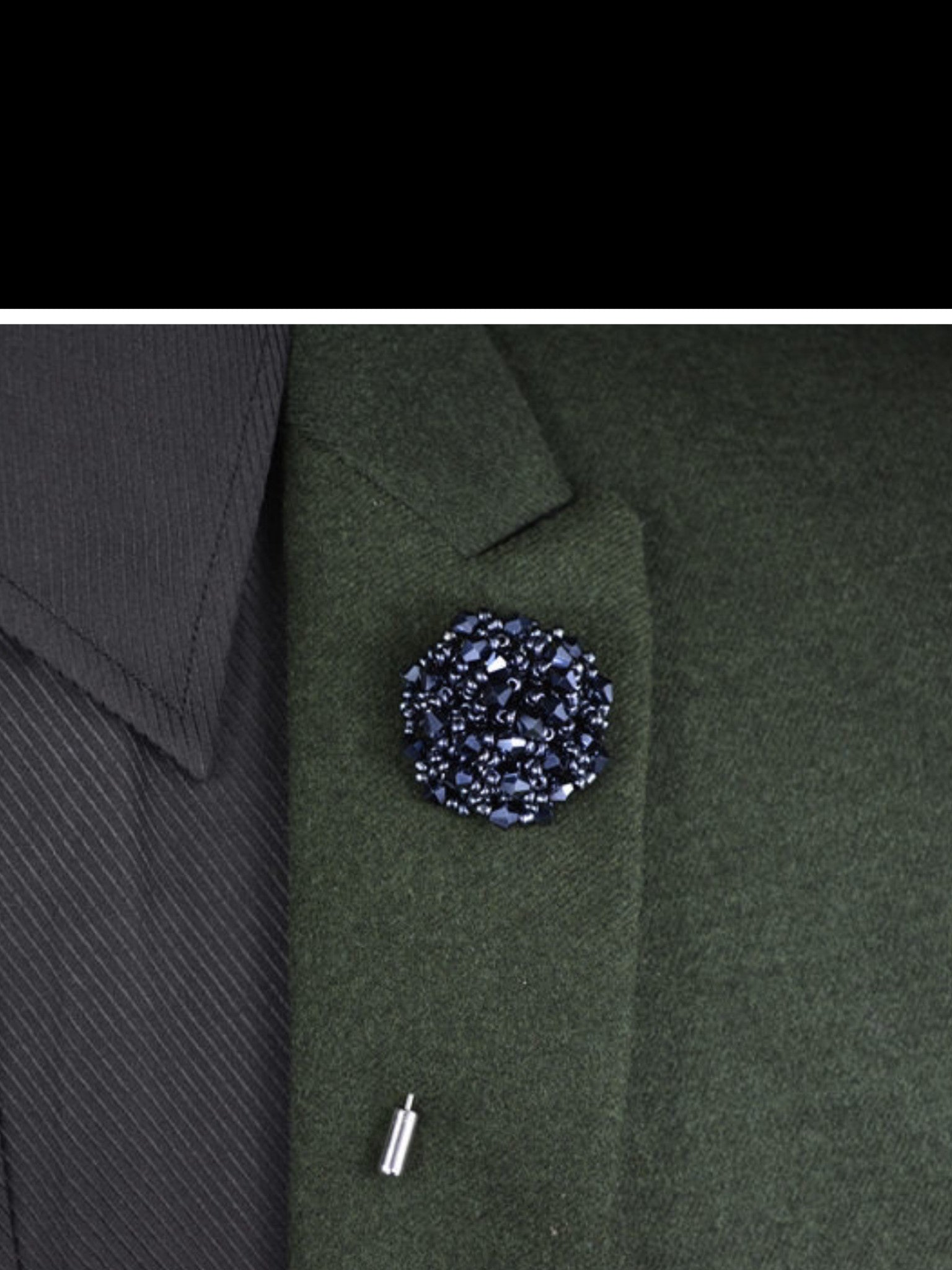 cloth mens western black handmade larger popular brooches suit image friday pcs pin metal p bouquet korean womens brooch