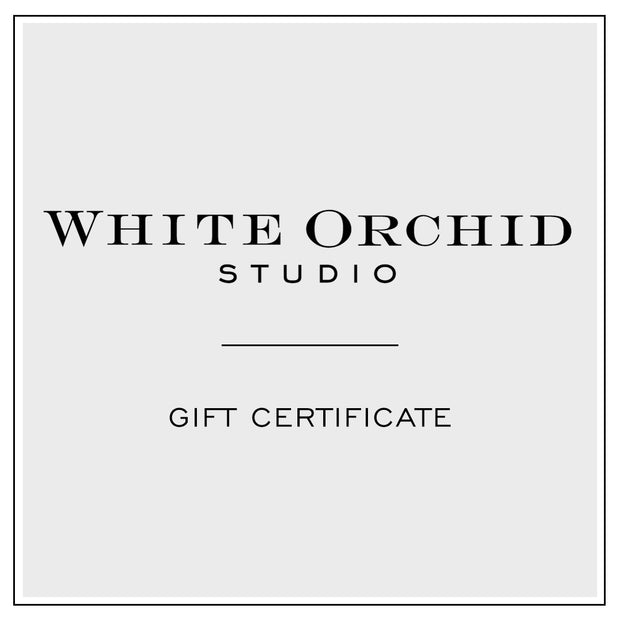 White Orchid Studio Gift Certificate
