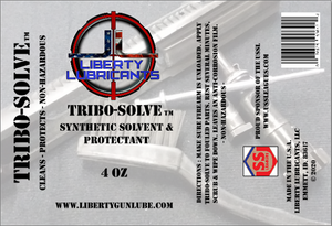 Liberty Gun Lube™ announces NEW Product - Tribo-Solve™ Synthetic Solvent & Protectant
