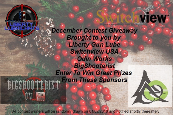 December Contest Giveaway