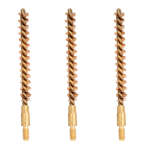 Liberty-Tuff™ Phosphor Bronze Bore Brush, .223/5.56mm, 3 Pack