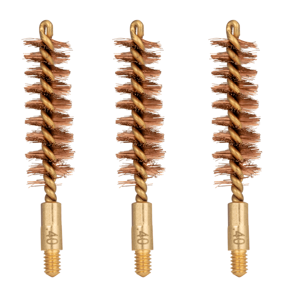 Liberty-Tuff™ Phosphor Bronze Bore Brush, .40cal, 3 Pack