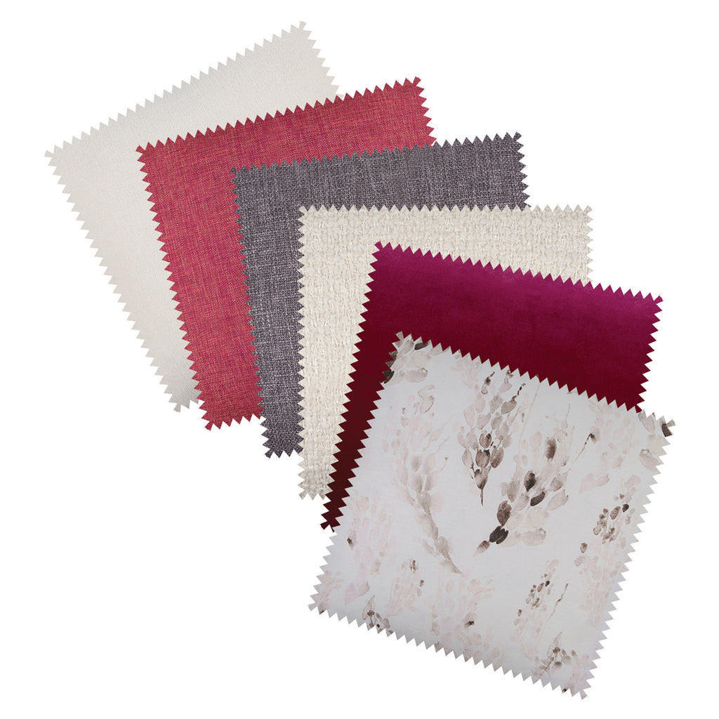 Carmine Fabric Swatch Kit - FREE