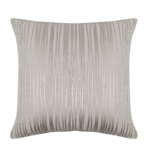 Cornelia Ivory Strie Decorative Throw Pillow