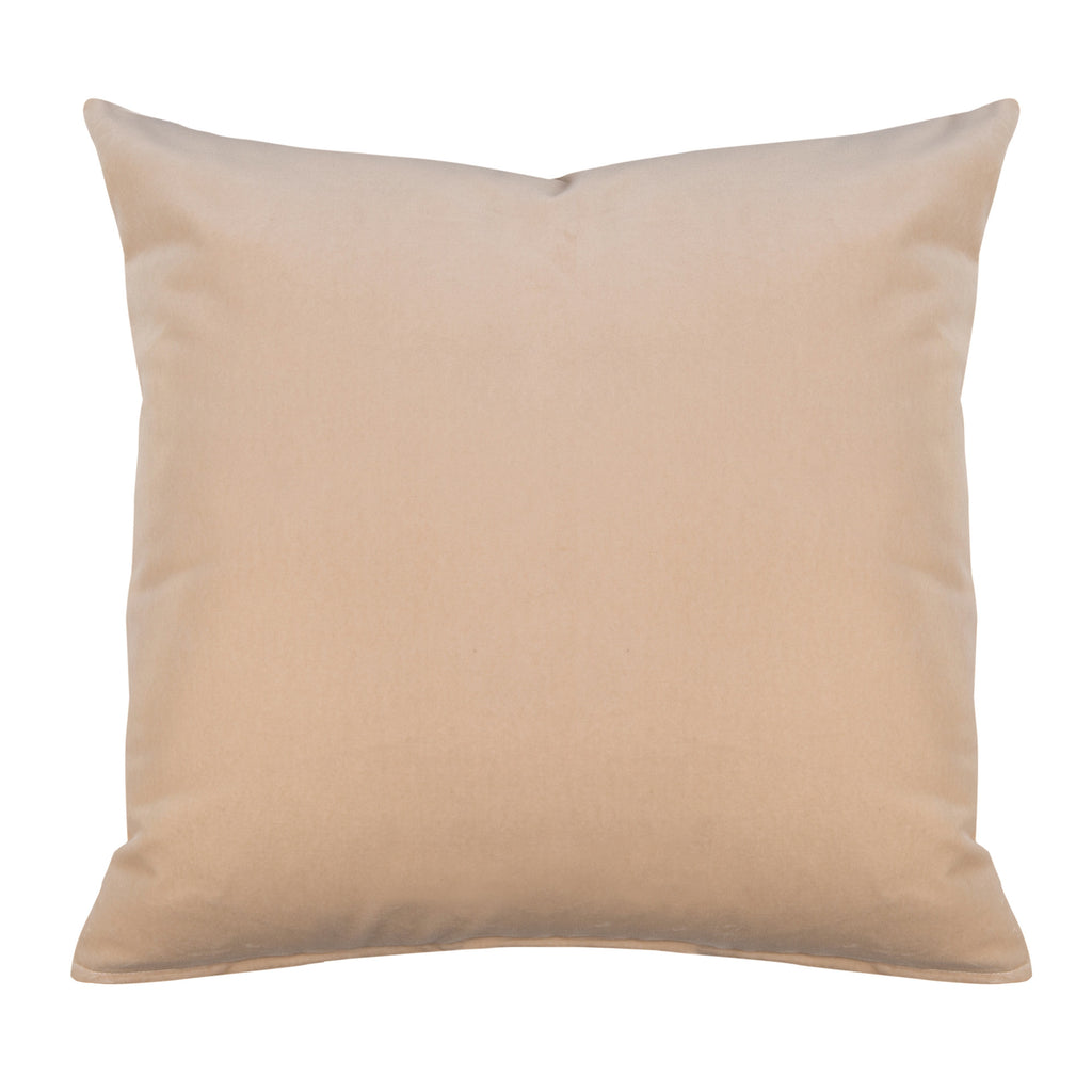 Hudson Peach Decorative Throw Pillow