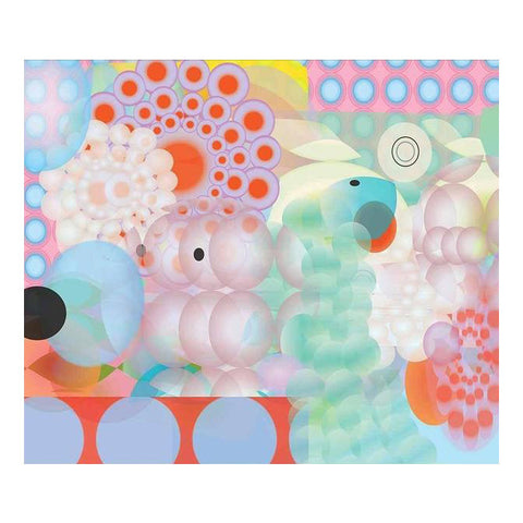 Waverly Pascal Circles by Ruth Adler printed by ArtStar