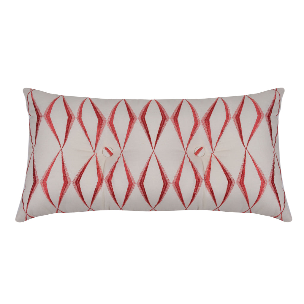Waverly Zig Zag Tufted Pillow