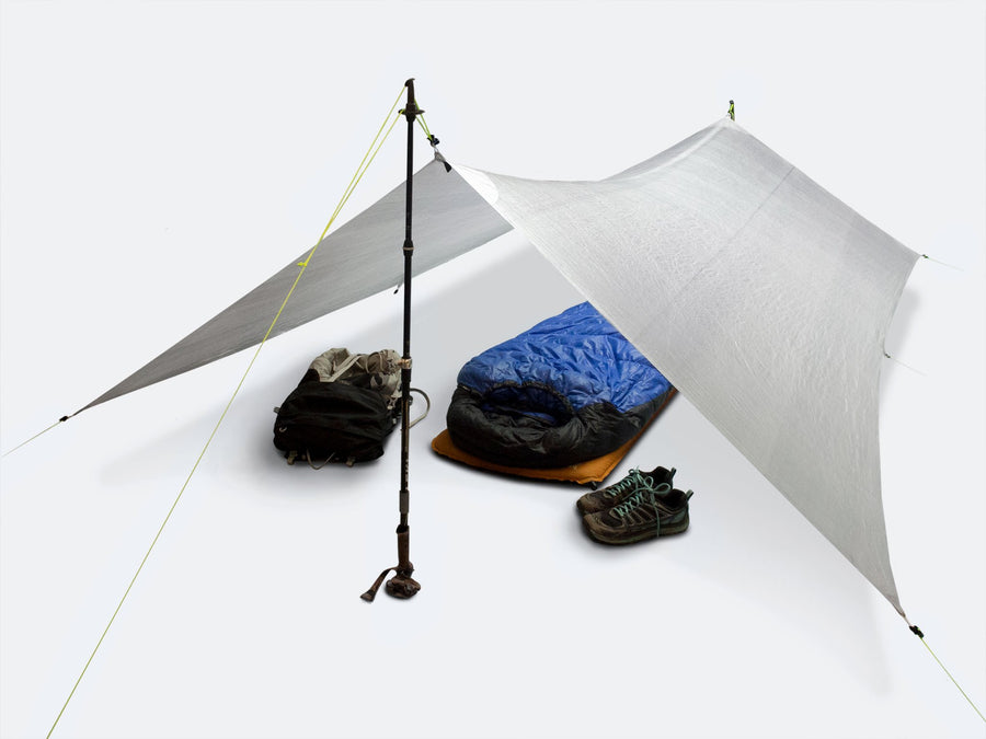9'/7' x 9' Tapered Tarp - Dyneema