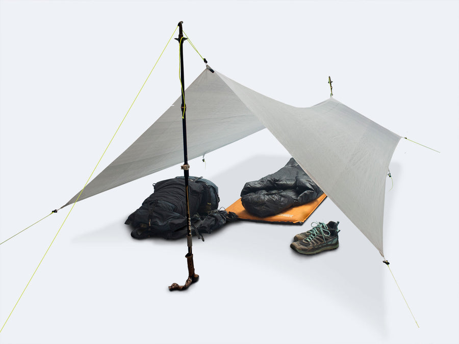 7'/5' x 9' Tapered Tarp - Dyneema