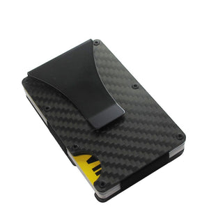 Anti-Theft Carbon Fiber Wallet