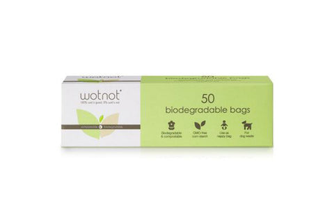 50 Biodegradable Nappy Bags - Wotnot