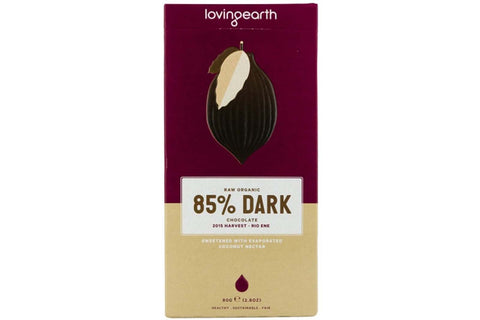 85% Dark Chocolate - Loving Earth