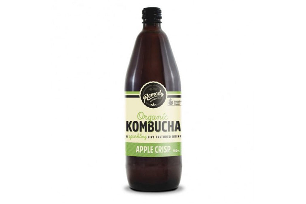 Organic Kombucha Apple Crisp - Remedy Kombucha