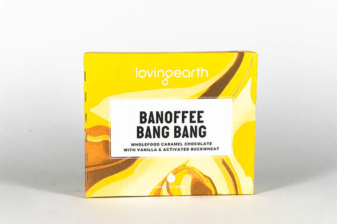 Banoffee Bang Bang 45g - Loving Earth