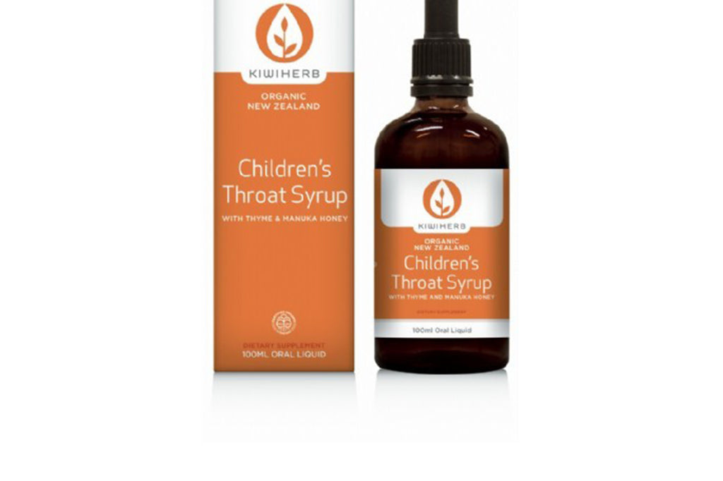 Children's Throat Syrup 100ml - Kiwiherb