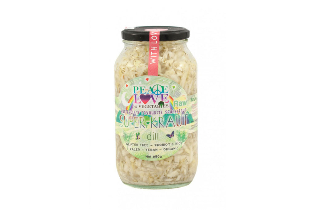 Dill Superkraut 680g - Peace, Love & Vegetables