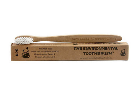 Adult Bamboo Toothbrush - Environmental Toothbrush