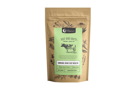 Beef Bone Broth Garden Herb 100g Powder - The Wholefoods Pantry
