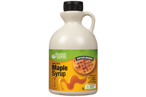 1L Organic Maple Syrup - Absolute Organic