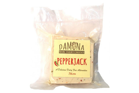 250g Pepperjack - Damona Non-Dairy Cheese