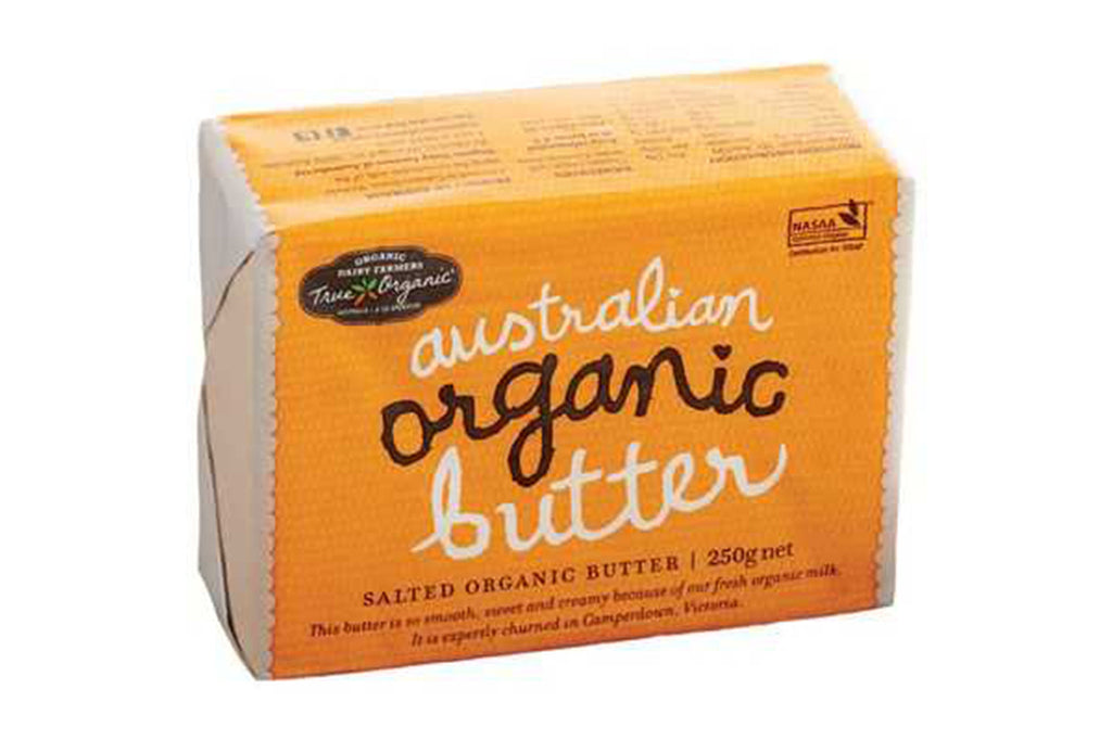 250g Salted Butter - True Organics